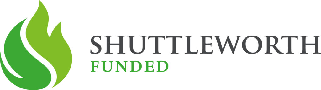 Thanks to the Shuttleworth Foundation for their flash grant!