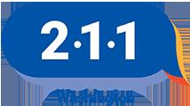Washington 211 logo.